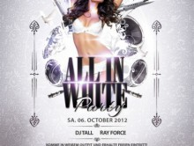 06.10.2012 – ALL IN WHITE Party