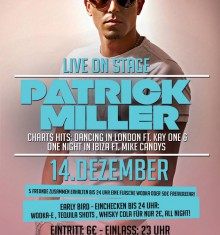 14.12.2013 PATRICK MILLER – LIVE ON STAGE – RIGA PALACE SOEST !!