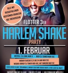 01.02.2014 HARLEM SHAKE meets FLOTTER DREIER / RIGA PALACE – SOEST !!!