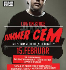 "15.02.2014  ""SUMMER CEM"" LIVE ON STAGE / RIGA PALACE / DJ TALL"