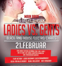 21.02.2014 LADIES VS. GENTLEMEN / RIGA PALACE / SOEST