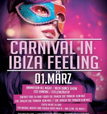 01.03.2014 Carnival in Ibiza Feeling – DEAL or no DEAL / RIGA PALACE – SOEST