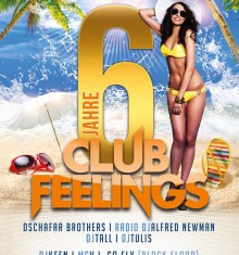 10.07.2015  6 JAHRE CLUBFEELINGS / CLUB ZERO !!!