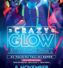 5 Nov. 2016  Crazy Glow In The Dark !!